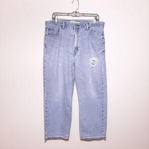"""Levi's 550 Relaxed Fit Destroyed Jeans 34""""×26"""""""